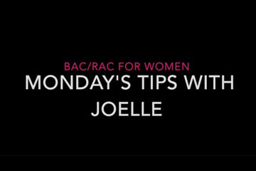 Monday's Tips with Joelle: Getting ready for your workout