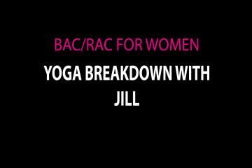 Yoga Breakdown with Jill Week 5